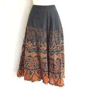 Chico's ombre skirt, gypsy style skirt, size XL.